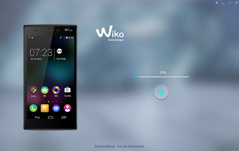 UPDATE ROM WIKO RIDGE