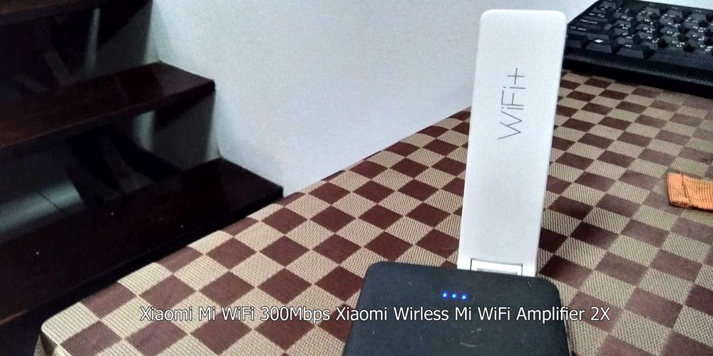 Xiaomi Mi WiFi 300Mbps Xiaomi Wirless Mi WiFi Amplifier 2X