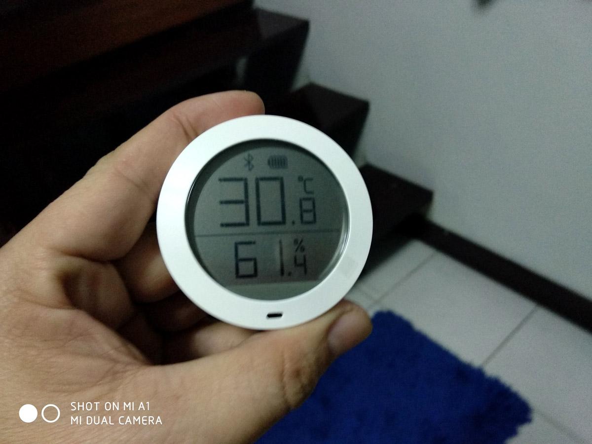 รีวิว Xiaomi Bluetooth Temperature ตัววัดอุณหภูมิ และ ตัววัดความชึ้น