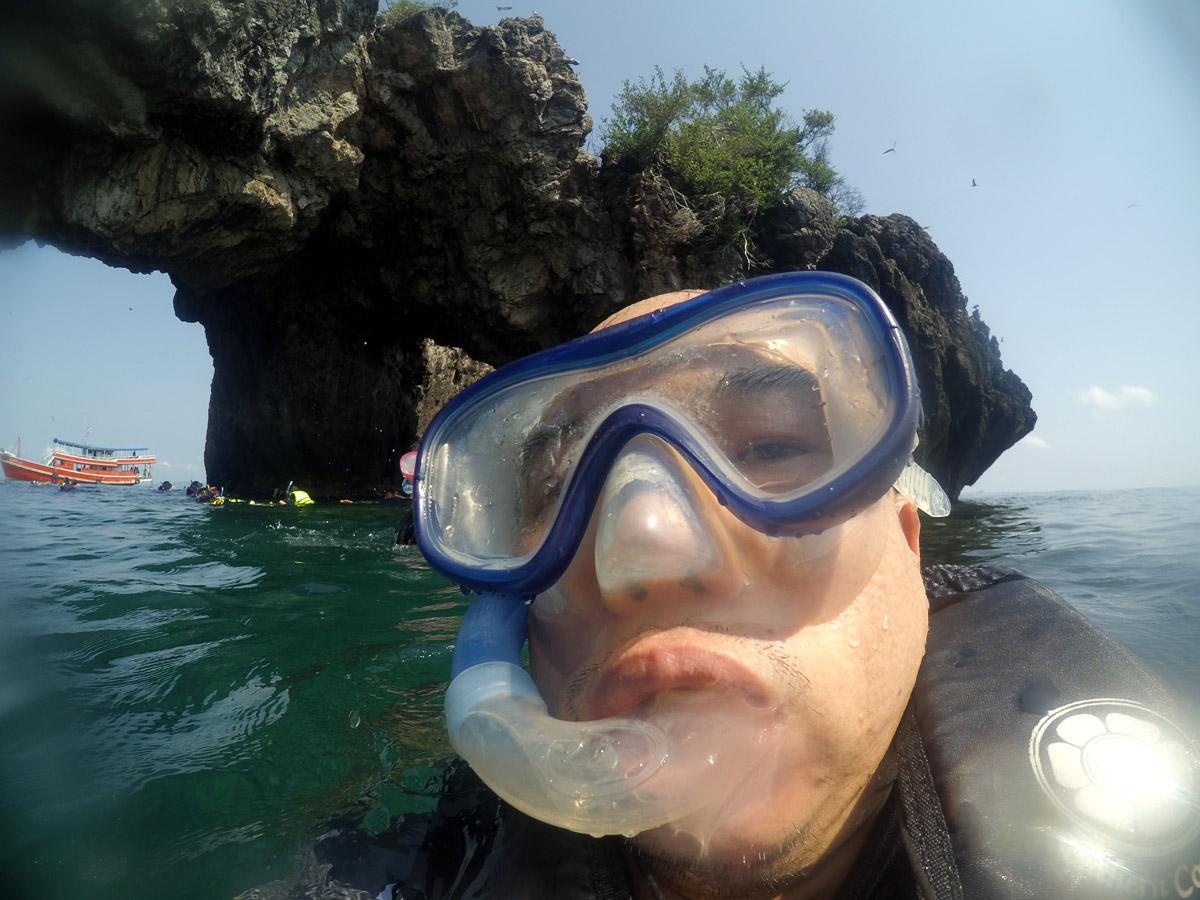 Yi_camera กับอุปกรณ์กันน้ำไปดูปะการัง
