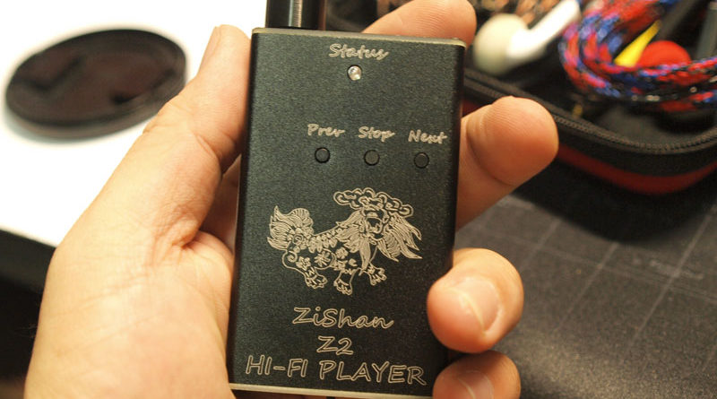 New DIY MP3 Zishan Z2 Player Lossless Music MP3 HiFi Music Player DAC AK449