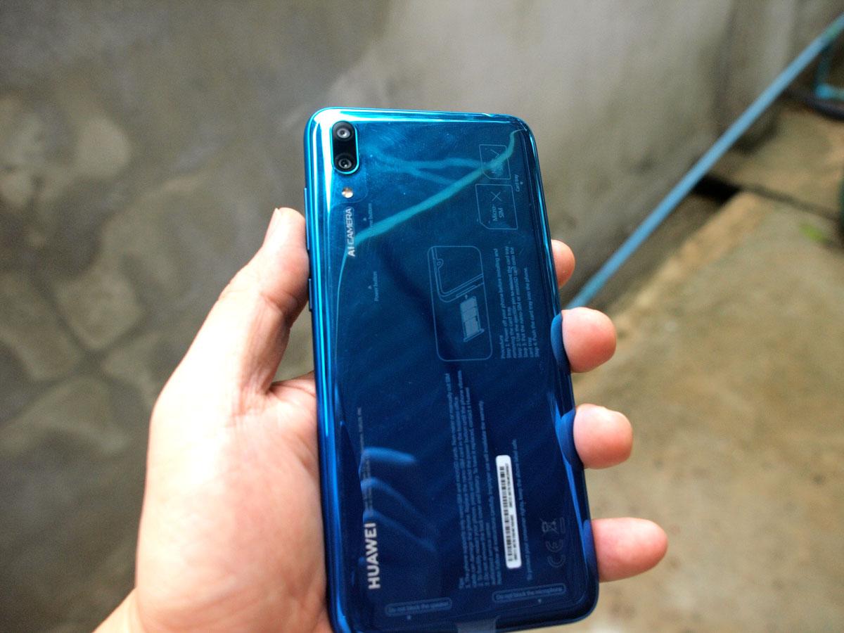 รีวิว Huaweiy7pro2019