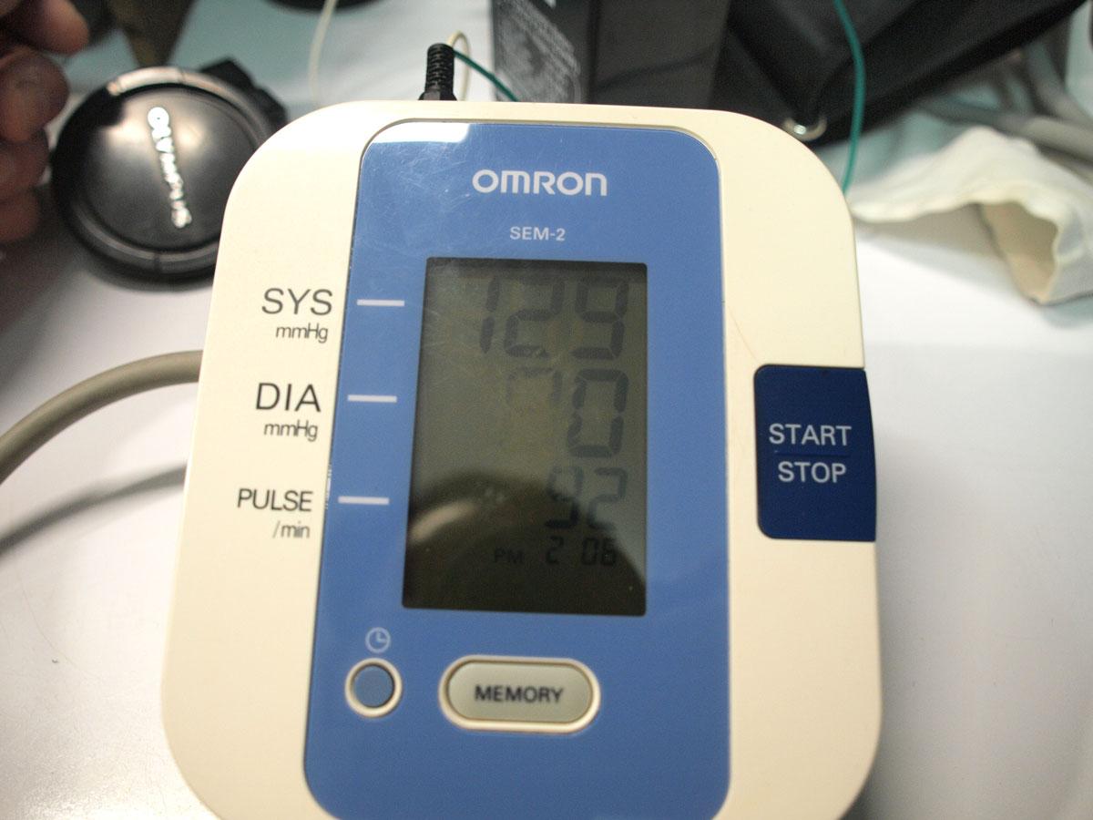 เครื่องวัดความดัน OMRON SEM-2